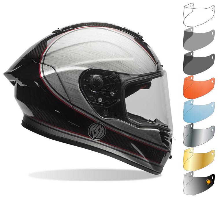 Bell Race Star RSD Chief Motorcycle Helmet & Visor