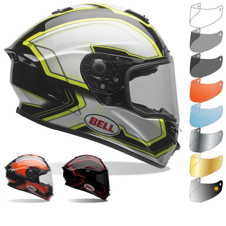 ccf512f3 Bell Star Pace Motorcycle Helmet & Visor - Full Face Helmets -  Ghostbikes.com
