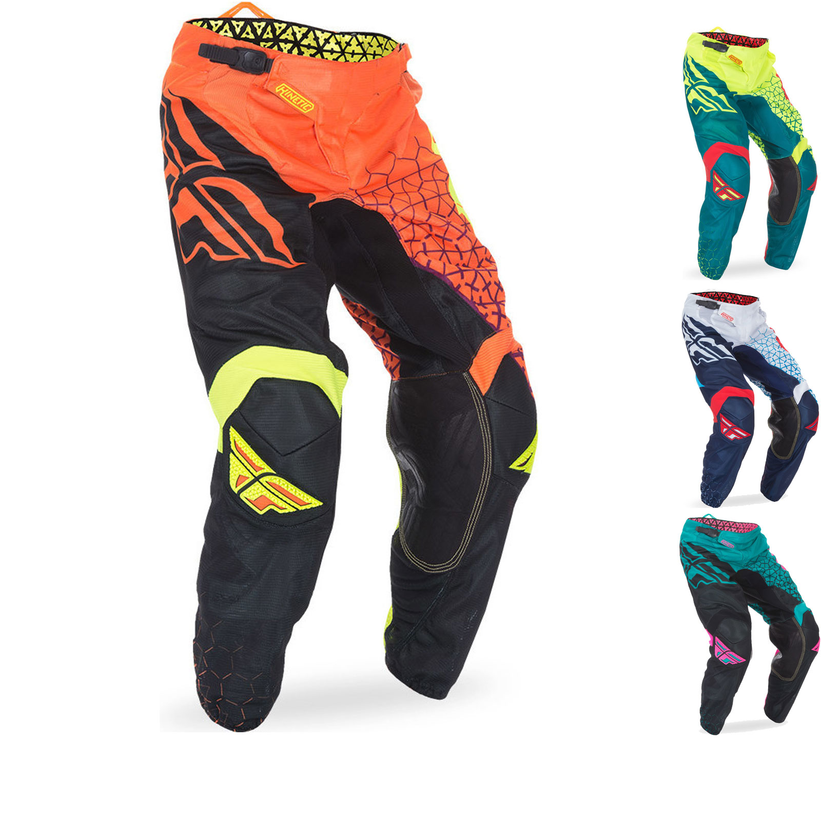 Fly Racing 2017 Kinetic Mesh Trifecta Motocross Pants Clearance Ghostbikes Com