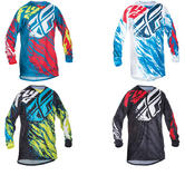 Fly Racing 2017 Kinetic Relapse Motocross Jersey