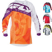 Fly Racing 2017 Kinetic Crux Youth Motocross Jersey