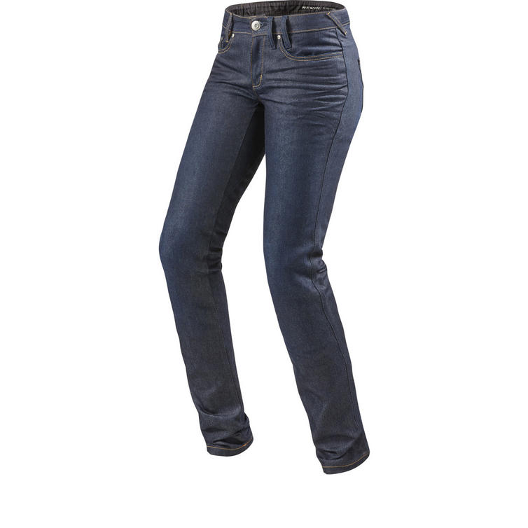 Rev It Madison 2 RF Ladies Medium Blue Motorcycle Jeans