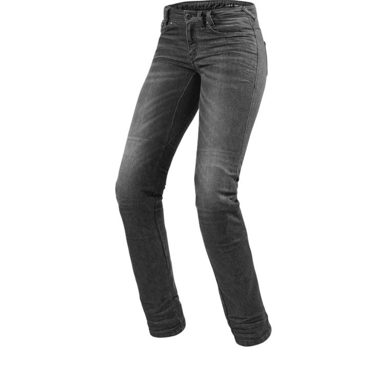 Rev It Madison 2 RF Ladies Dark Grey Used Motorcycle Jeans