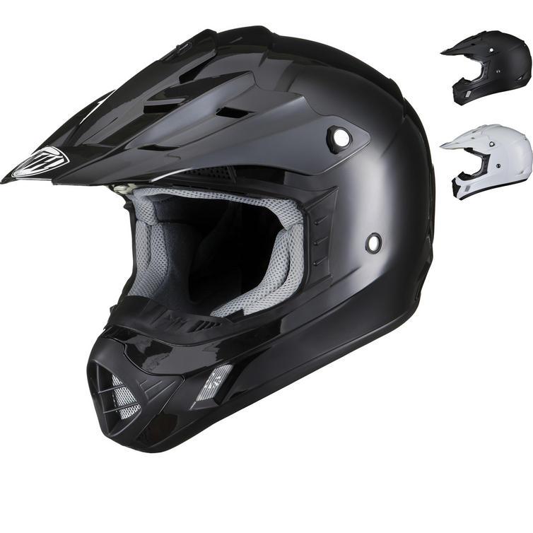 THH TX-12 Plain Motocross Helmet