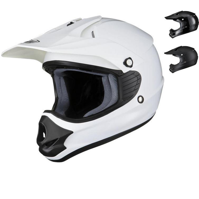 THH TX-11 Kids Plain Motocross Helmet