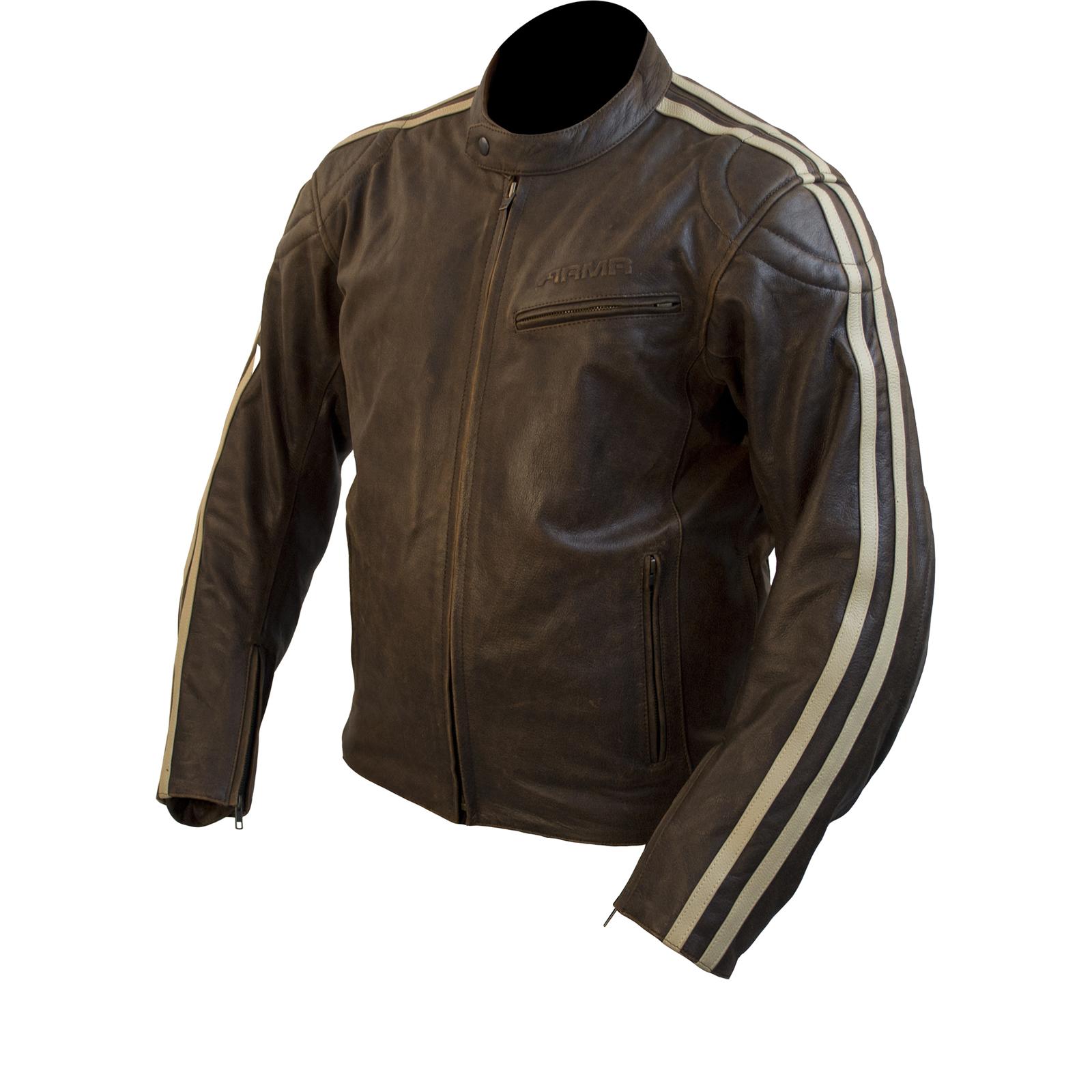 ARMR Moto Hiro Classic Leather Motorcycle Jacket