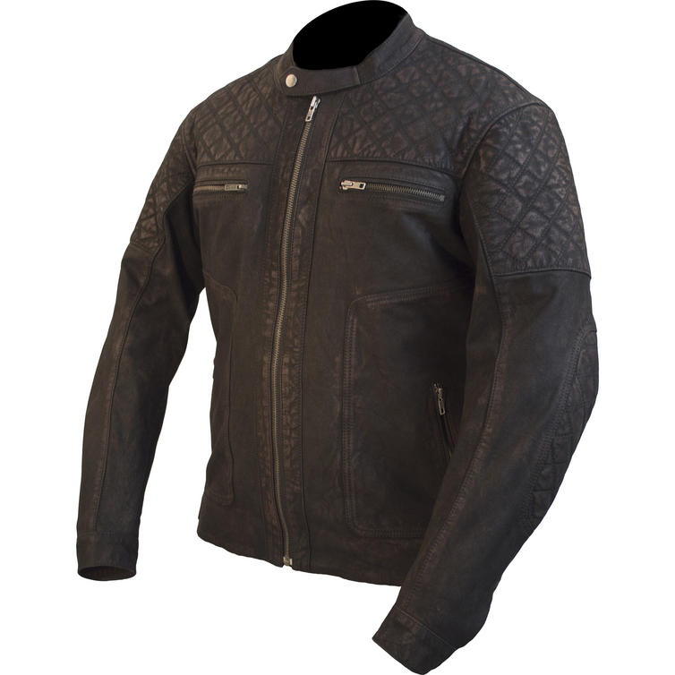 ARMR Moto Retoro Classic Leather Motorcycle Jacket - Jackets ...