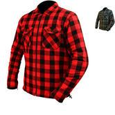 ARMR Moto Aramid Check Motorcycle Shirt