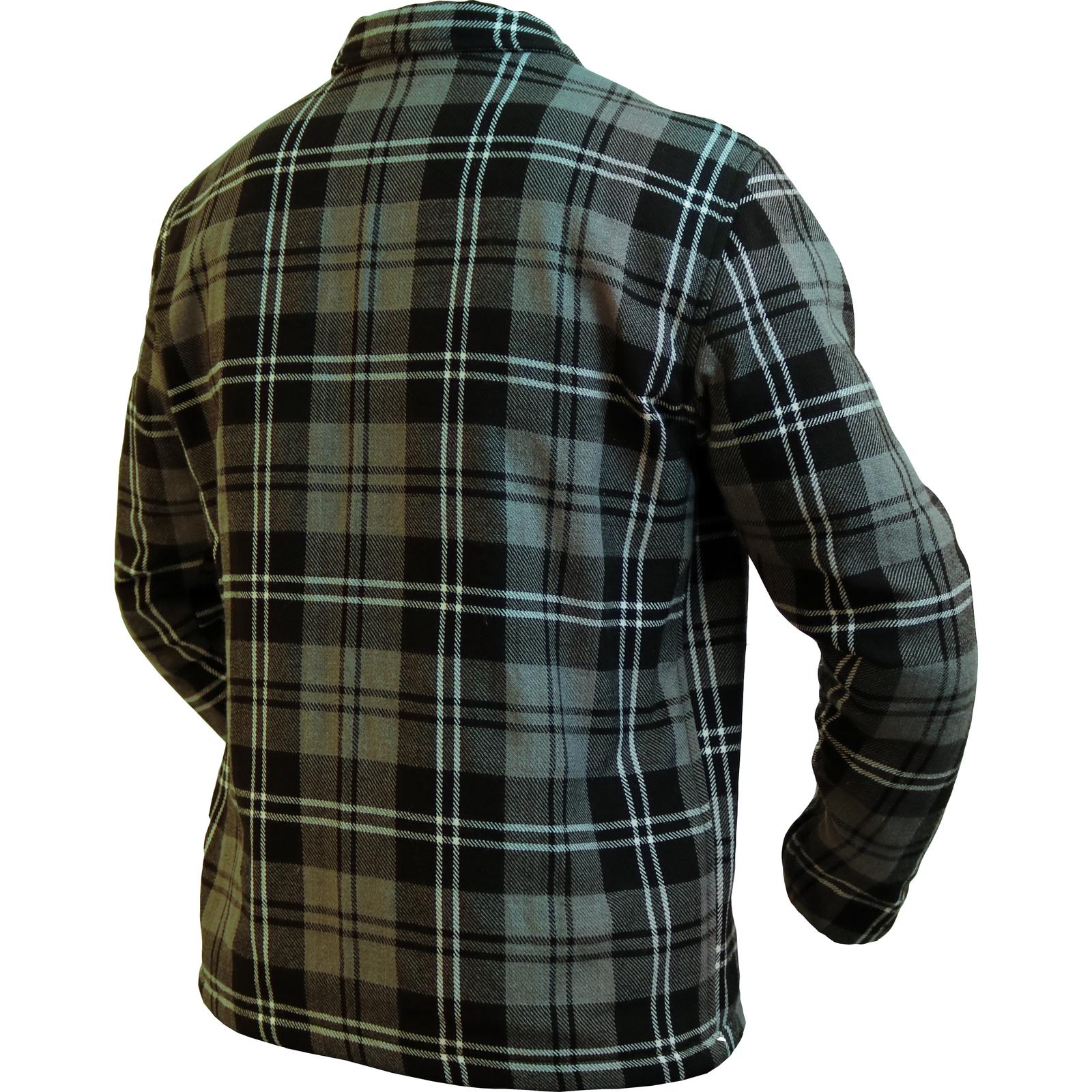 Flannel Motorcycle Jacket >> Armr Moto Aramid Check Motorcycle Shirt Lumberjack Plaid Flannel