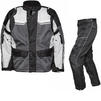 Agrius Columba Motorcycle Jacket & Hydra Trousers Black Grey Stone Black Kit - Standard Leg Thumbnail 1