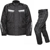 Agrius Columba Motorcycle Jacket & Hydra Trousers Black Kit - Short Leg