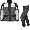 Agrius Columba Motorcycle Jacket & Hydra Trousers Black Grey Stone Black Kit - Long Leg Thumbnail 1