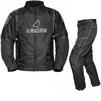 Agrius Orion Motorcycle Jacket & Hydra Trousers Black Kit - Standard Leg Thumbnail 1