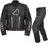 Agrius Phoenix Motorcycle Jacket & Hydra Trousers Black Kit - Short Leg