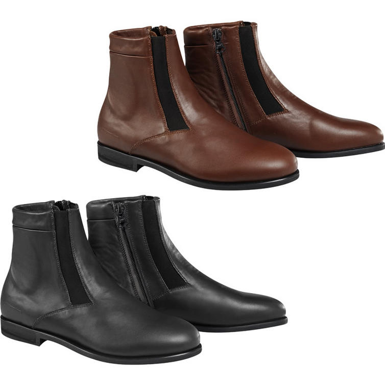 Alpine Motorcycle Gear >> Alpinestars Parlor Motorcycle Riding Shoes - Boots - Ghostbikes.com