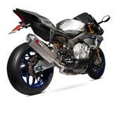 Scorpion Serket Super Stock De-Cat Titanium Oval Exhaust - Yamaha YZF R1 & R1M 2015 - 2018
