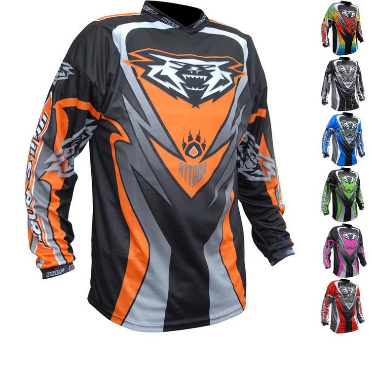 Wulf Attack Cub Motocross Jersey