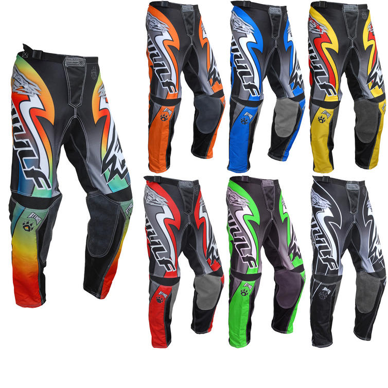 Wulf Attack Adult Motocross Pants