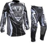 Wulf Attack Cub Motocross Jersey & Pants Black Kit
