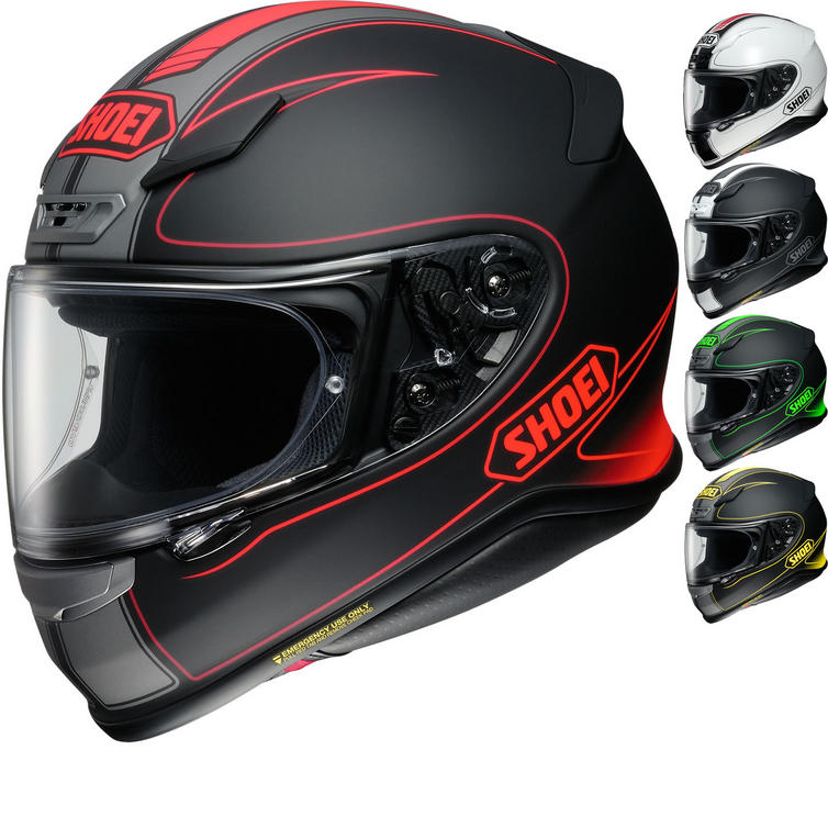 Shoei NXR Flagger Motorcycle Helmet