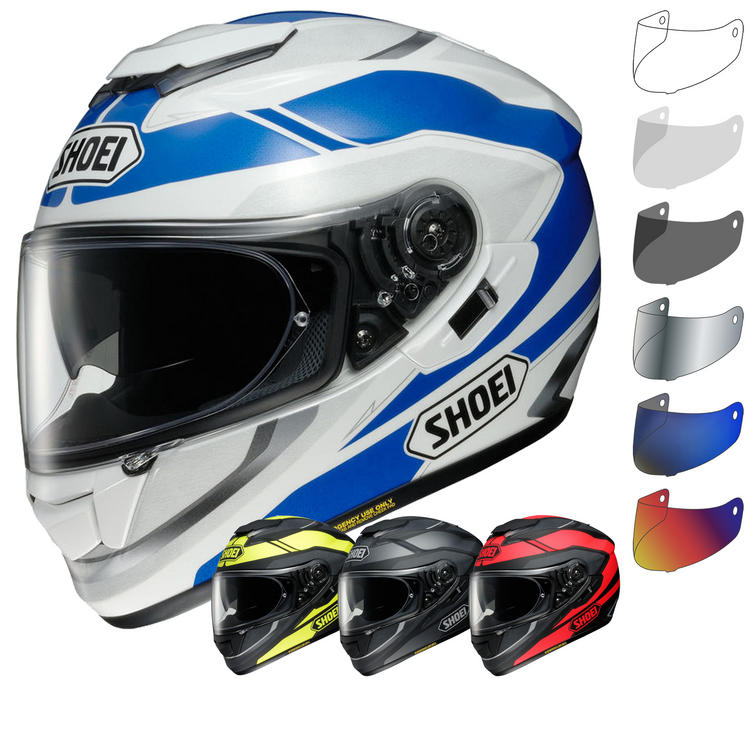 shoei gt air swayer motorcycle helmet visor full face. Black Bedroom Furniture Sets. Home Design Ideas