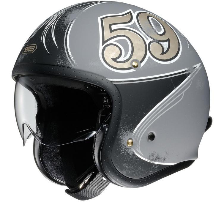 Shoei J.O Gratte-Ciel Open Face Motorcycle Helmet