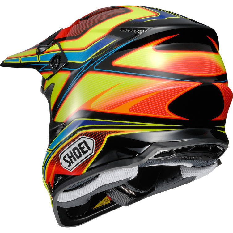 shoei vfx w capacitor motocross helmet christmas gifts for bikers. Black Bedroom Furniture Sets. Home Design Ideas