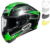 Shoei X-Spirit 3 Laverty Motorcycle Helmet & Visor