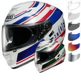 Shoei GT-Air Primal Motorcycle Helmet & Visor