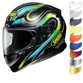 Shoei NXR Intense Motorcycle Helmet & Visor