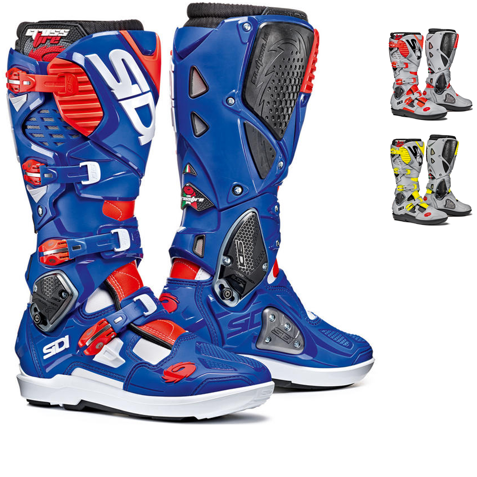 sidi crossfire 3 srs motocross boots motocross boots. Black Bedroom Furniture Sets. Home Design Ideas