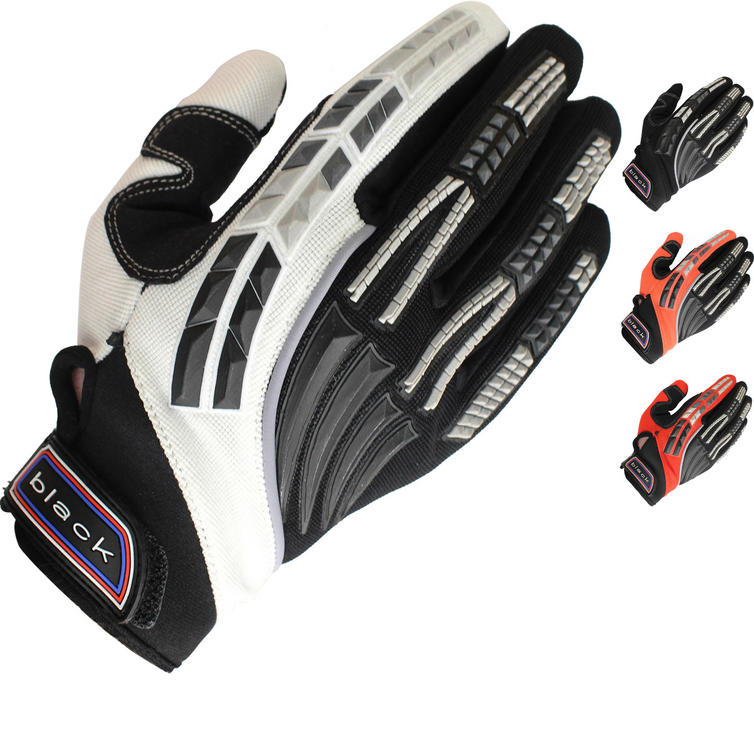 Black Claw Kids Motocross Gloves