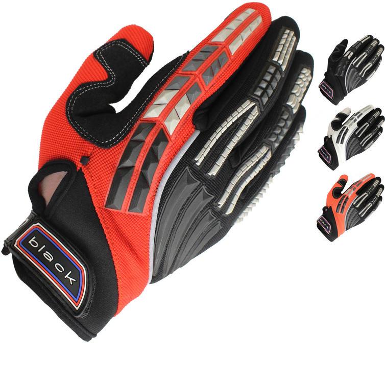 Black Claw Motocross Gloves
