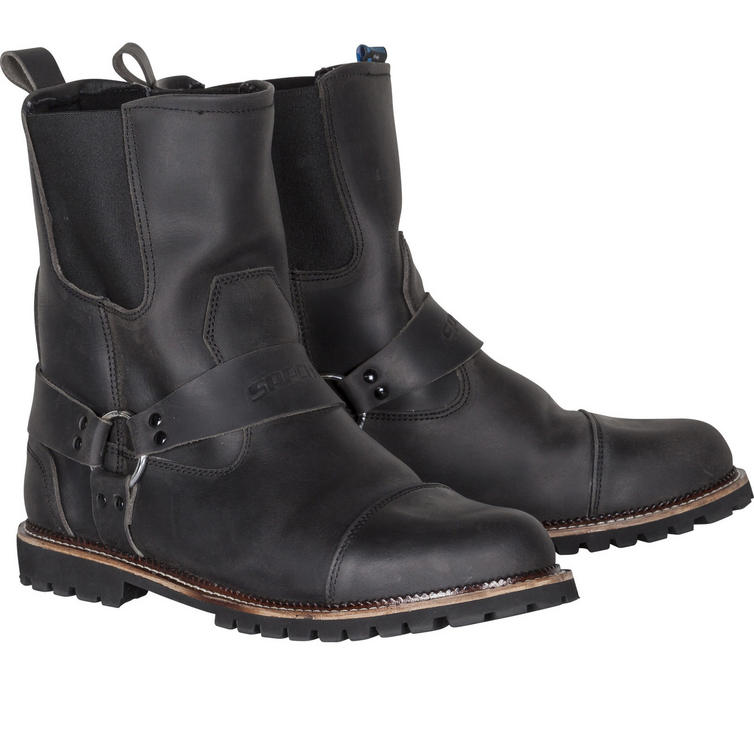 Spada Kensington Rigger Leather Motorcycle Boots