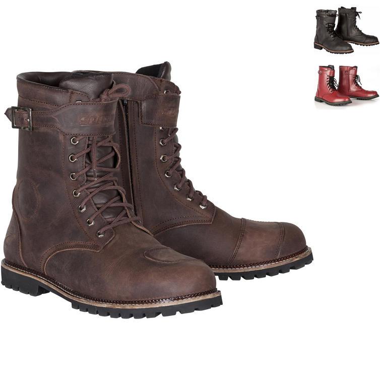 Spada Pilgrim Grande Leather Motorcycle Boots