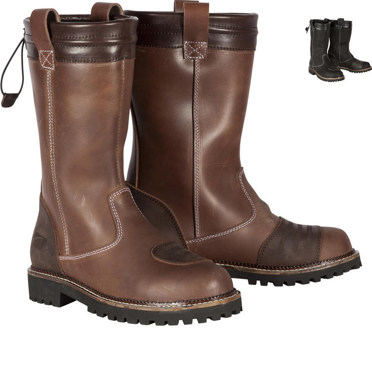 Spada Pallas Ladies Leather Motorcycle Boots