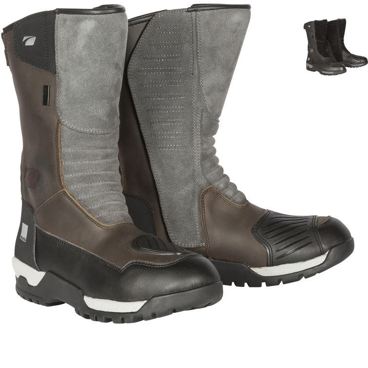 Spada Stelvio Leather Motorcycle Boots