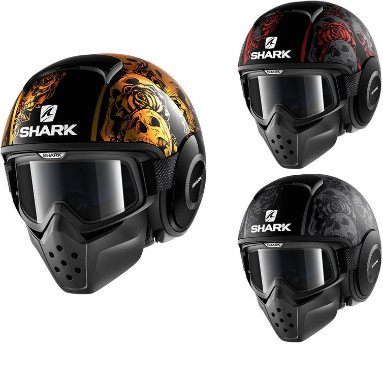 Shark Drak Sanctus Open Face Motorcycle Helmet