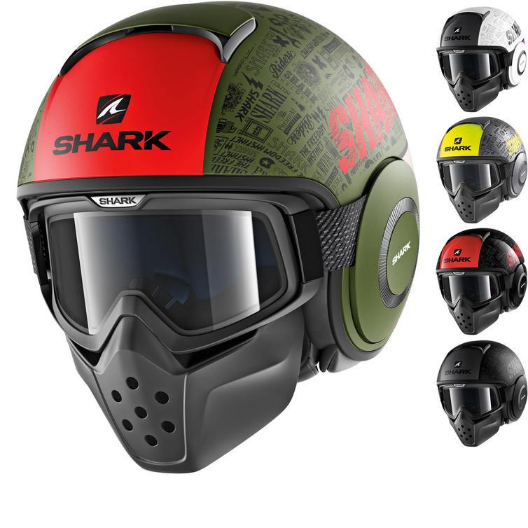 Shark Drak Tribute RM Open Face Motorcycle Helmet