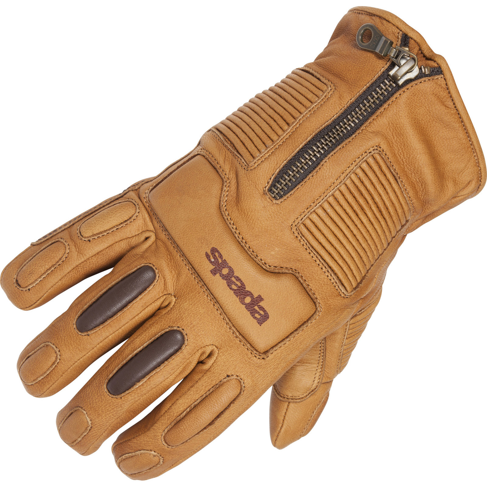 Motorcycle leather gloves waterproof - Picture 2 Of 3