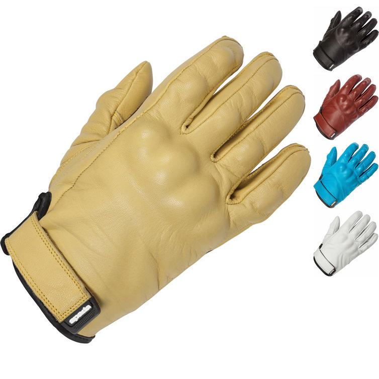 Spada Wyatt Leather Motorcycle Gloves