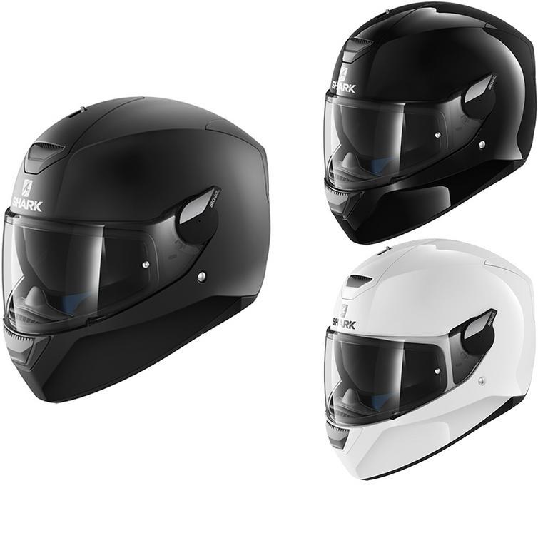 Shark D-Skwal Blank Motorcycle Helmet