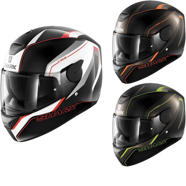 Shark D-Skwal Rakken Motorcycle Helmet