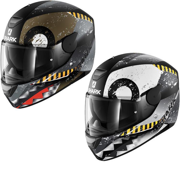 Shark D-Skwal Saurus Motorcycle Helmet
