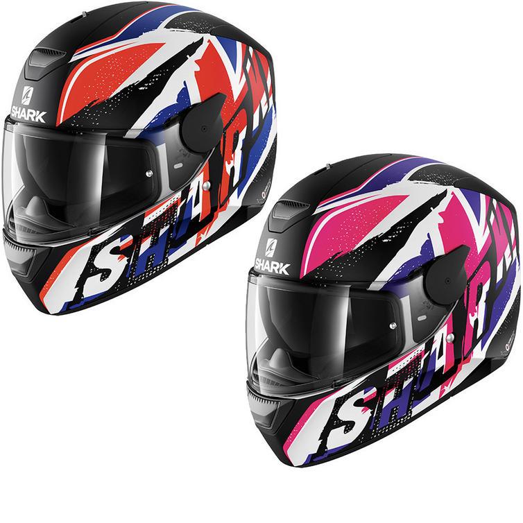 Shark D-Skwal Ujack Motorcycle Helmet