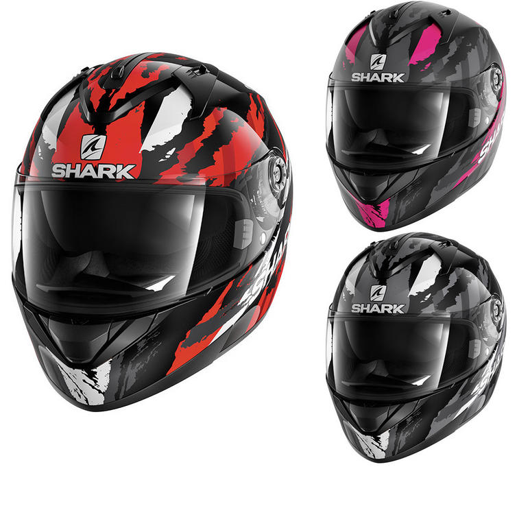 Shark Ridill Oxyd Motorcycle Helmet
