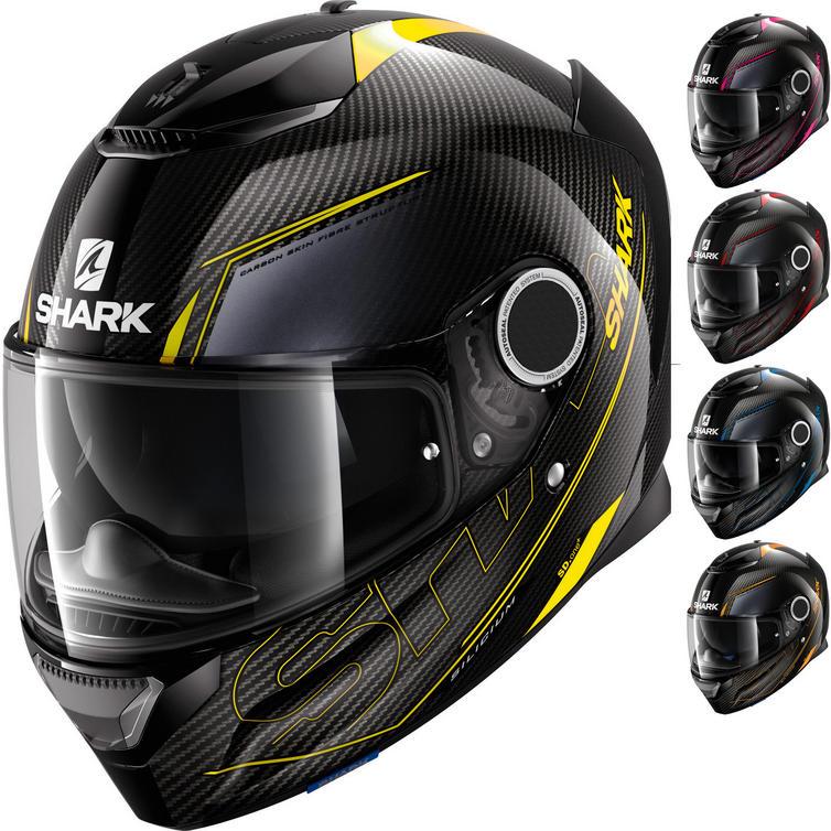 Shark Spartan Carbon Silicium Motorcycle Helmet