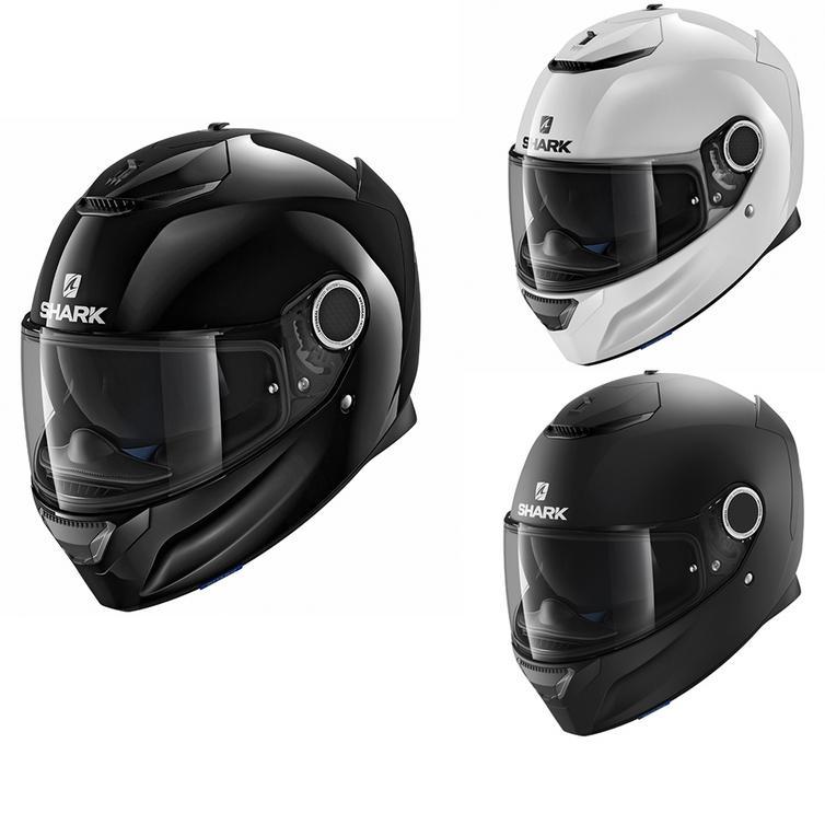 Shark Spartan Blank Motorcycle Helmet