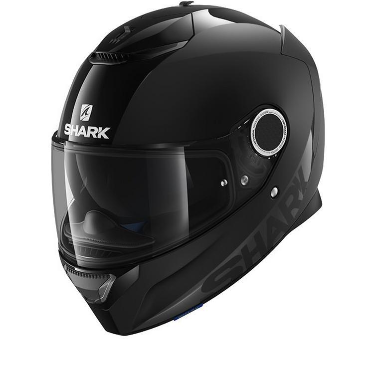 Shark Spartan Dual Black Motorcycle Helmet