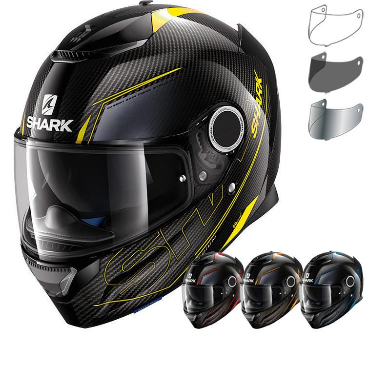 shark spartan carbon silicium motorcycle helmet visor. Black Bedroom Furniture Sets. Home Design Ideas